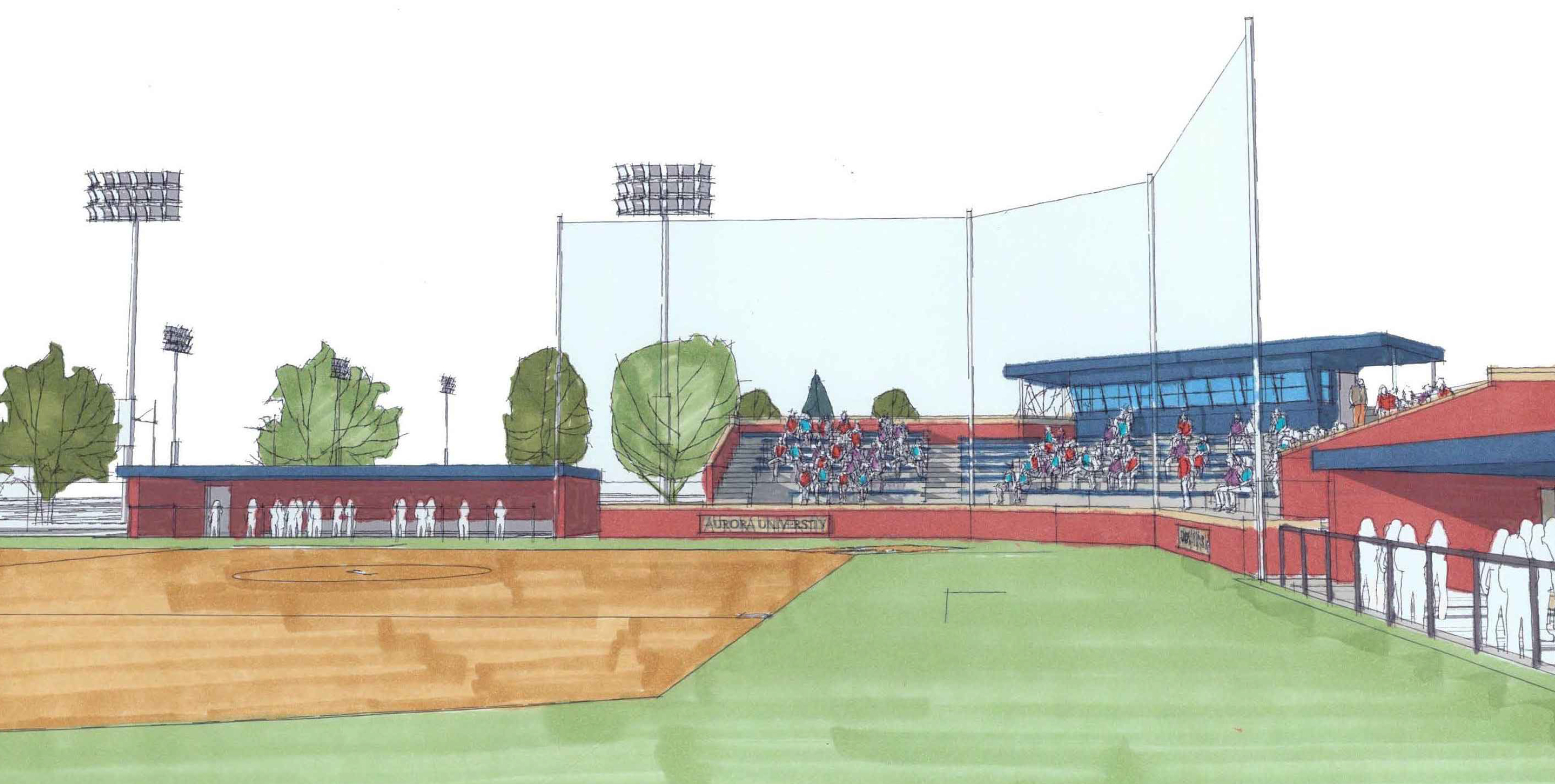 Softball rendering