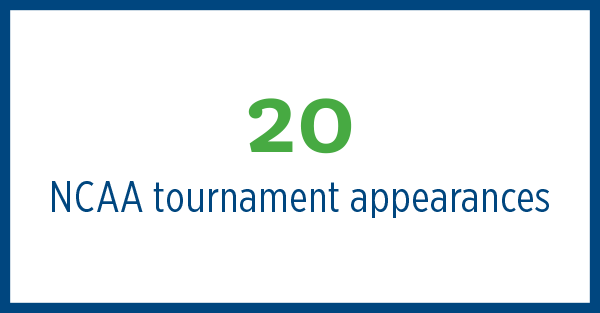 20 NCAA Tournament Appearances