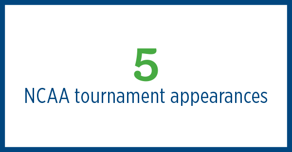 4 NCAA tournament appearances