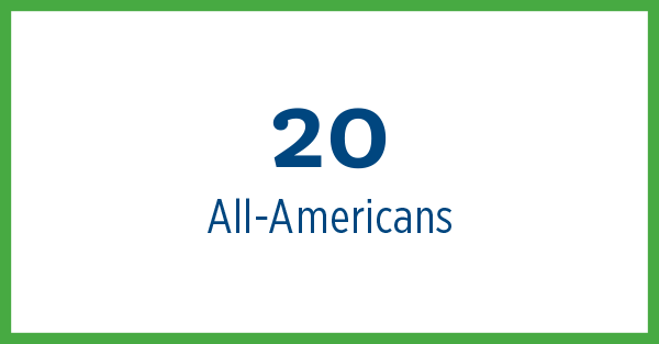 20 All-Americans
