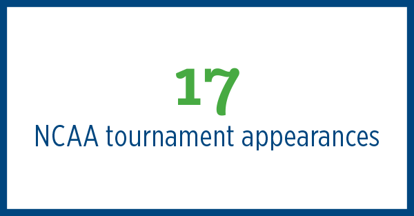 17 NCAA tournament appearances